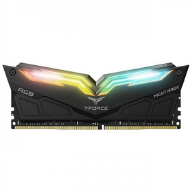 TEAM NIGHT HAWK UD 8GB 3200MHz RGB DDR4 Desktop RAM