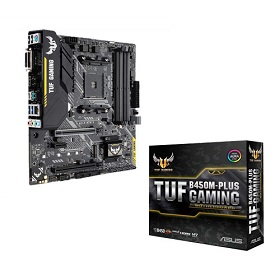 Asus TUF B450M-PLUS GAMING DDR4 AMD AM4 Motherboard